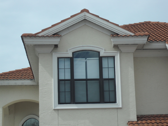 Faux Window Encasement