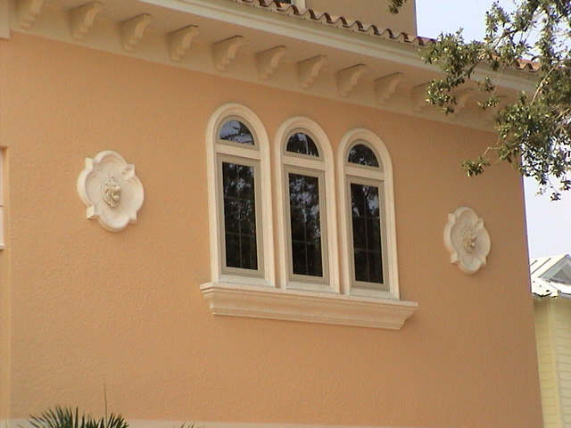 Foam Architectural Window Trim
