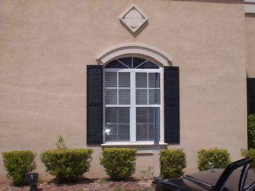 Faux Cement Window Molding